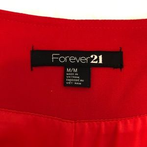Forever 21 Red Minidress